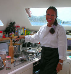 Enjoy the luxury of a private chef