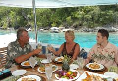 Life on a Caribbean crewed yacht charter
