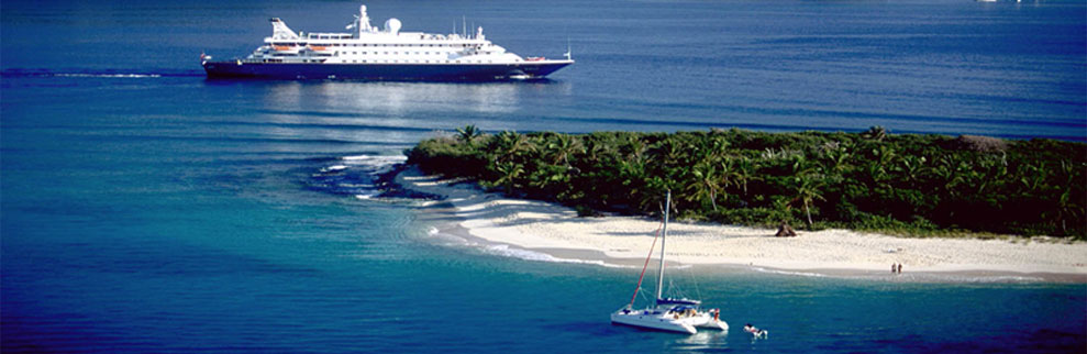 private yachts versus cruise ships