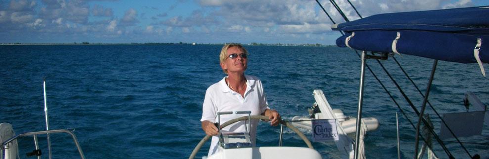 Professional charter yacht broker, Ulla Gotfredsen
