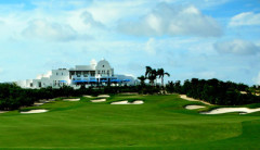 The golf course in Anguilla