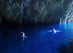 The Blue Grotto near Hvar