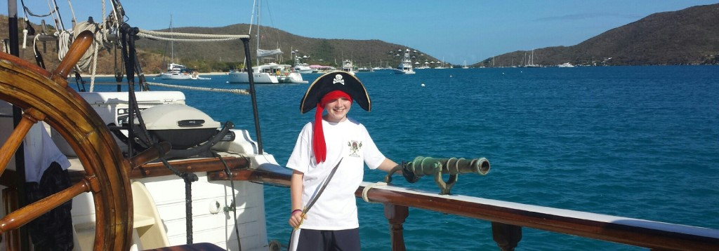 Take the kids on a real pirate adventure!