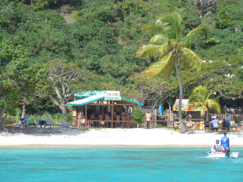 B-Line Beach Bar, BVI